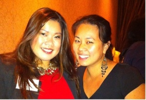 Ada & I at the OneAsian Global event - Terminal City Club, Vancouver BC (Image courtesy of Ada)